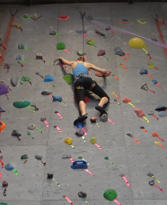 V Rock Climbing