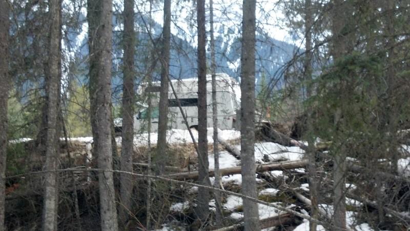 Kootenay Natl Forest camping spot