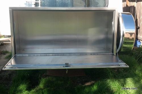 Custom aluminum storage box
