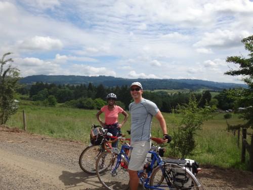 Ribbon Ridge road