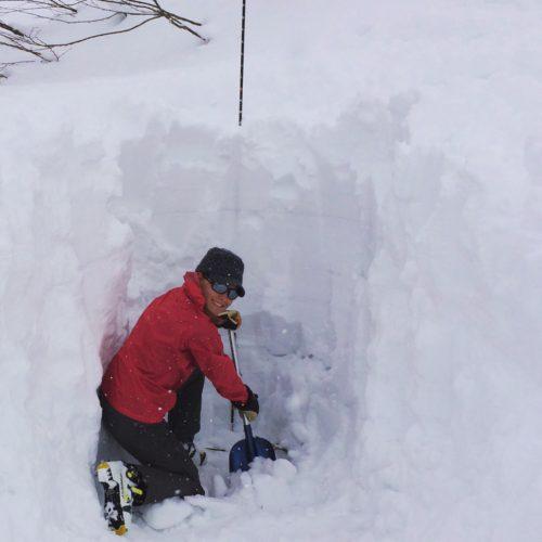 V digging